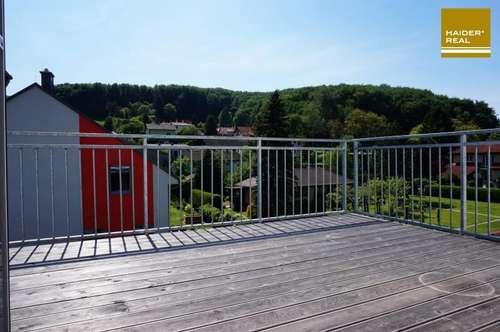 Moderne 3 Zimmer-Dachterrassen-Wohnung mit Ausblick