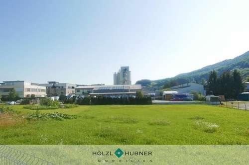 Baugrund im Gewerbegebiet an der Salzburger Stadtgrenze