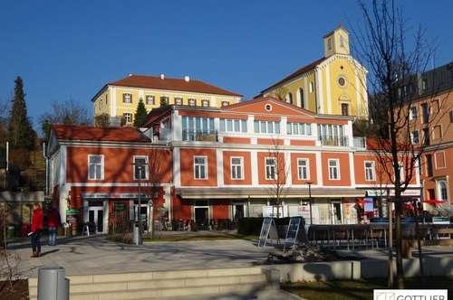 Sanierte 2-Zimmer-Wohnung mit WG-Eignung am neuen Hauptplatz in Bad Gleichenberg