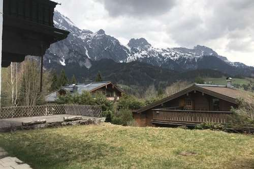 Grundstück mit Altbestand in TOP Lage von Leogang - ZWEITWOHNSITZ