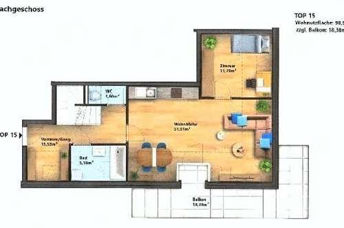 Wunderschöne Neubau-Dachterrassenwohnung in sehr guter, zentraler Lage