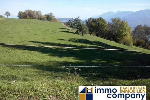 Herrliche Lage! Einmaliger Panoramablick! 7 km südlich von Klagenfurt!!!