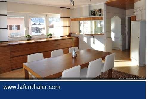 EXKLUSIVE Architekten- Wohnung mit WINTERGARTEN und GARAGE in zentraler Ortslage von Bad Hofgastein