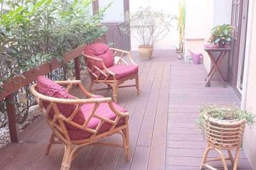 Townhouseflair - ruhige City-Wohnung mit schöner Terrasse