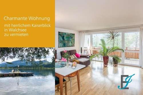 Charmante 3 Zimmer Wohnung mit herrlichem Kaiserblick