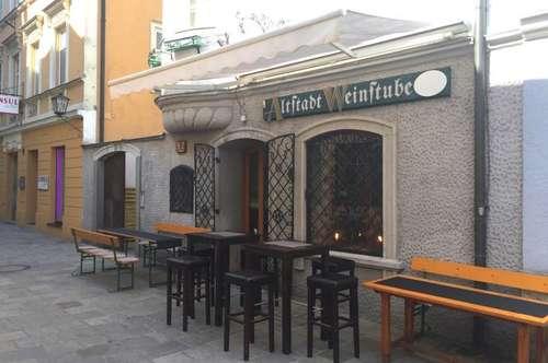"Welser Traditionslokal ""Altstadt Weinstube"" zu pachten!"