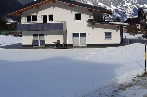 Moderne hochwertige Erdgeschosswohnung (halbes Haus) in traumhafter Lage als Freizeitwohnsitz/Zweitwohnsitz - Nähe Skigebiet Mayrhofen