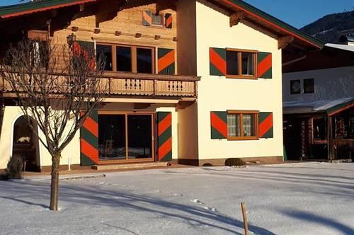Große Wohnung (halbes Haus) in schöner Lage mit Bergblick als Freizeitwohnsitz/Zweitwohnsitz - Nähe Skigebiet Kitzbühel