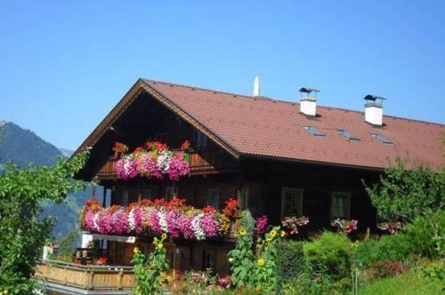 Große Wohnung im Bauernhaus in traumhafter Lage mit Bergblick als Zweitwohnsitz/Freizeitwohnsitz - Nähe Skigebiet Fügen