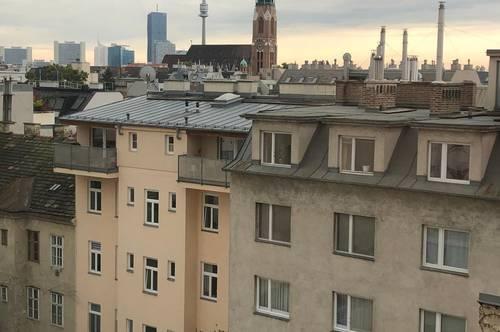 Top Dachgeschoßwohnung über den Dächern Wiens
