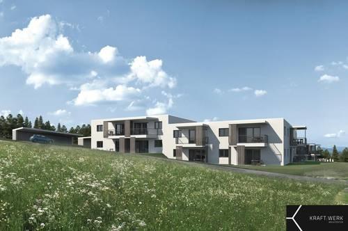 Nachhaltiges Bauprojekt in der grünen Steiermark