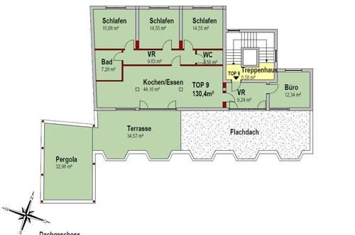CITY TOWER - Top 9 PENTHOUSE - DIE höchstgelegene Wohnung im Zentrum!