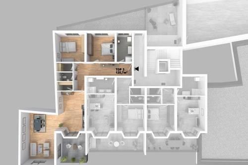 CITY TOWER - Leistbares Stadtleben: Top 3 3-Zimmer-WHG mit Balkon