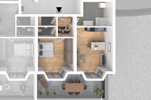 CITY TOWER - Leistbares Stadtleben: Top 1 2-Zimmer-WHG mit großzügigem Balkon