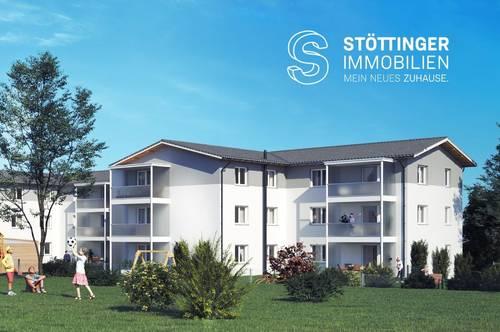 Schöne Dachgeschoßwohnung im Herzen Lambachs (97 m² inkl. Loggia)