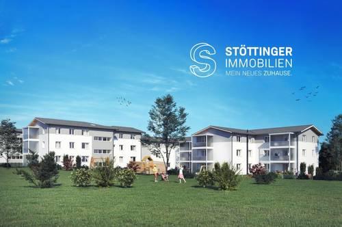 Helle Eigentumswohnung im Herzen Lambachs (97 m² inkl. Loggia)