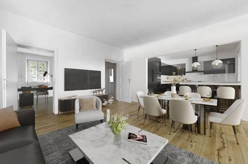 Moderne 3,5-Zimmer-Wohnung in Salzach-Nähe