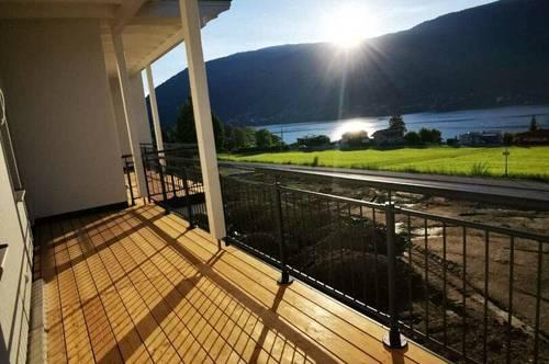 Neubau mit Seeblick, Terrasse und Garten am Ossiacher See und vielen Wintersportmöglichkeiten
