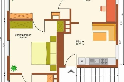 Anleger aufgepasst - leistbare 3-Zimmerwohnung in Hallein