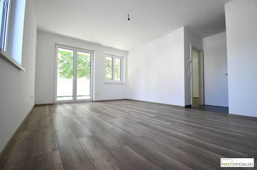 Kurz vor Fertigstellung - ERSTBEZUG inkl. ca. 100 m² Eigengarten & EWE Markenküche