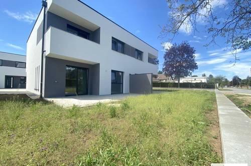 Kurz vor Fertigstellung: Moderne Doppelhaushälfte mit Keller und Top-Ausstattung nähe Wien