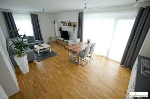 Perfekt aufgeteilte 3 - Zimmer Balkon Wohnung inkl. EWE Küche direkt in Spillern - NEBAU 2019 !!!