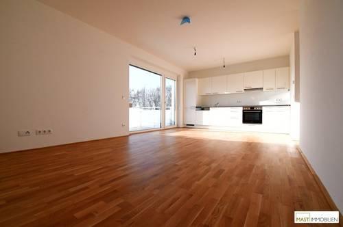 Optimal aufgeteilte 3 - Zimmer Balkon Wohnung inkl. EWE Küche direkt in Spillern - Nähe Wien/Stockerau.