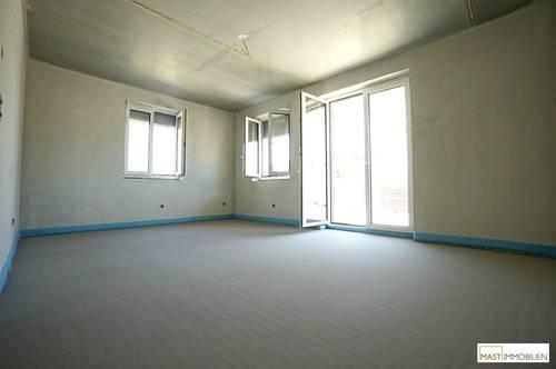 Eigentumswohnung mit Garten direkt in Michelhausen - 3 Zimmer - EWE Markenküche - Stellplatz --- ERSTBEZUG ab 01.01.2022