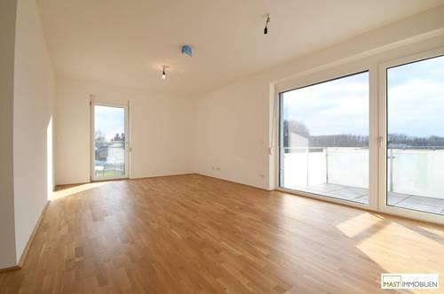 Optimal aufgeteilte 3 - Zimmer Balkon Wohnung inkl. EWE Küche direkt in Spillern - Nähe Wien/Stockerau