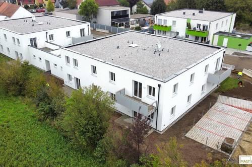 NEUE ERSTBEZUG´s Mietwohnung in Michelhausen inkl. EWE Küche mit Geräten & PKW Stellplatz