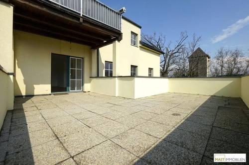 Sonnige XXL Terrasse gesucht? Beeindruckende 3 Zimmer Wohnung inkl. Küche direkt in Guntramsdorf