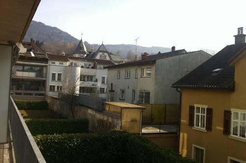 Sonnige 2-Zimmer mit Terrasse im Zentrum von Bregenz