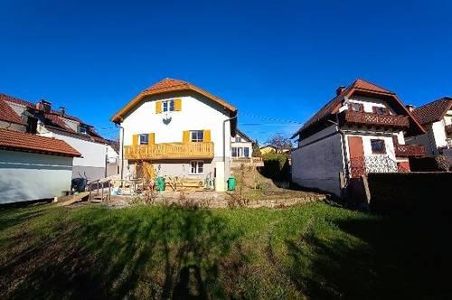 SBG-Itzling: Frisch renoviertes Einfamilienhaus mit sonnigem, großen Garten und tollem Bergblick in Ruhelage