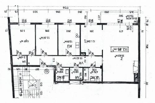 Wien 8. Bezirk Josefstadt 112,89 m² + Balkon 7,5 m² + Garagenstellplatz
