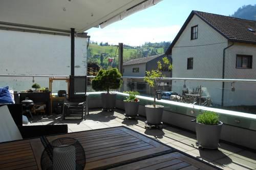 3-Zi. Terrassenwohnung Dornbirn Hatlerdorf
