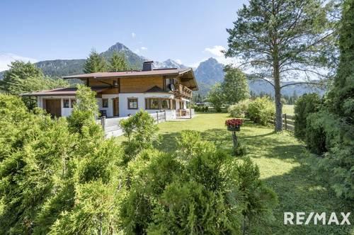 Stilvolles Haus mit traumhaftem Bergblick
