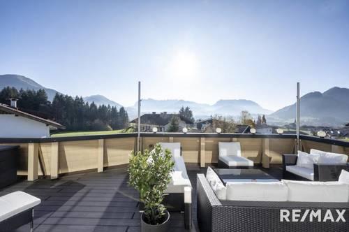 Top - Haus mit grandiosem Bergblick