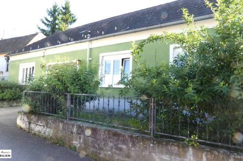 Kleines Haus mit zwei Wohneinheiten zum selbst sanieren