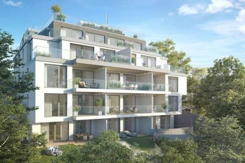 Luxuriöse Wohnung in Bestlage, 45m² Garten & Balkon, PREMIUM-Ausstattung!