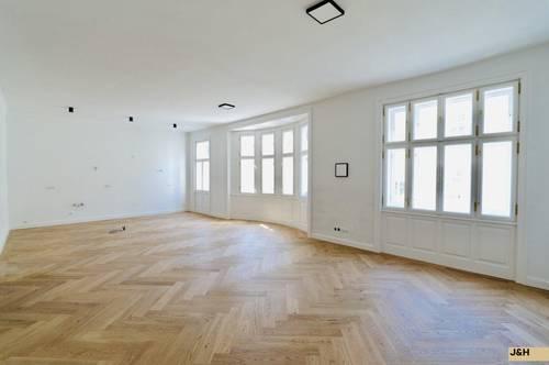 Luxuriöse, stilvolle Wohnung in hochherrschaftlichen Altbau in Top-Lage, Erstbezug!