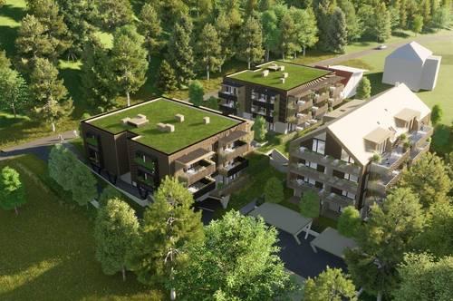 Charmante, neue Seeblick-Eigentumswohnung am Klopeiner See mit ca. 51 m² Wohnfläche, TOP 7, Haus 1