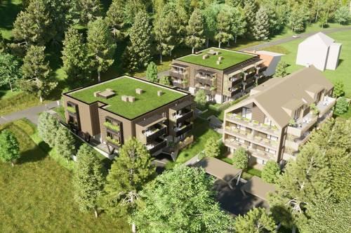 NEUBAU-Gartenwohnung am Klopeiner See mit ca. 67 m² Wohnfläche, Terrasse und Eigengarten, TOP 1, Haus 3, EG