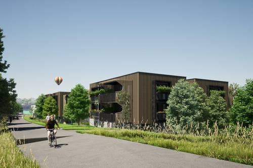 Moderne NEUBAU-Eigentumswohnung am Klopeiner See mit ca. 45 m² Wohnfläche und ca. 15 m² Balkon, TOP 7, Haus 3, 1.OG