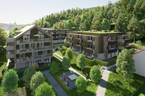 Hochwertige NEUBAU-Eigentumswohnung am Klopeiner See mit ca. 67 m² Wohnfläche und ca. 26 m² Balkon, TOP 9, Haus 3, 2.OG