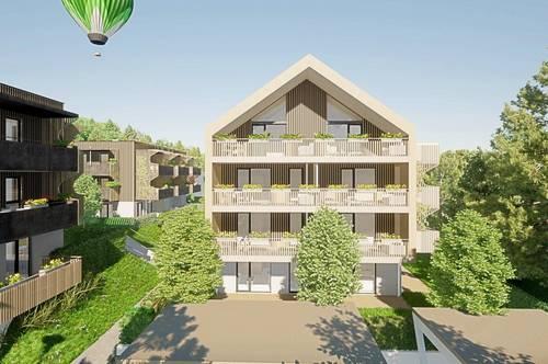 Helle Neubau-Eigentumswohnung am Klopeiner See mit ca. 67 m² Wohnfläche und ca. 26 m² Balkon, TOP 4, Haus 2, 1. OG