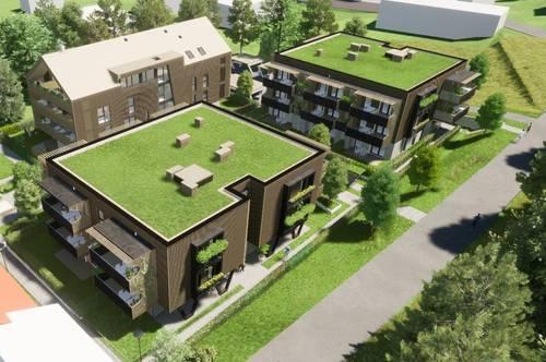 Sonnige NEUBAU-Eigentumswohnung am Klopeiner See mit ca. 68 m² Wohnfläche und ca. 18 m² Balkon, TOP 11, Haus 3, 2.OG
