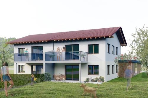 """Sonnige Neubau-Eigentumswohnung """"KARAWANKENBLICK"""", ca. 81 m² in Göltschach - Maria Rain, mit Garten bzw. Balkon, Erstbezug!"""