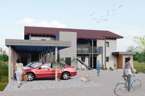 """Sonnige Neubau-Eigentumswohnung """"KARAWANKENBLICK"""", ca. 69 m² in Göltschach - Maria Rain, mit Balkon, Erstbezug!"""