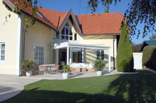 Koffer packen und einziehen! Schmuckes Einfamilienhaus am nördlichen Stadtrand von Salzburg