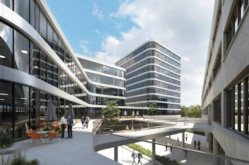 """""""Techbase Linz"""" Office Campus - in Planung"""